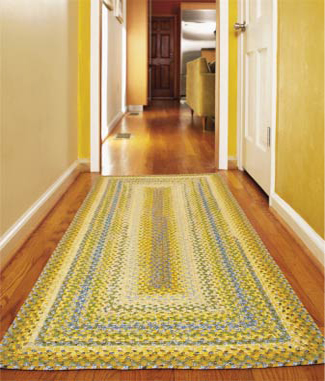 transitional braided rugs