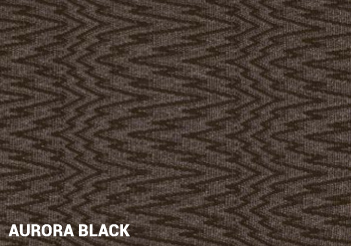 Aurora Black Outdoor Rug