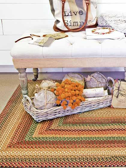 Canterbury Wool Braided Rug
