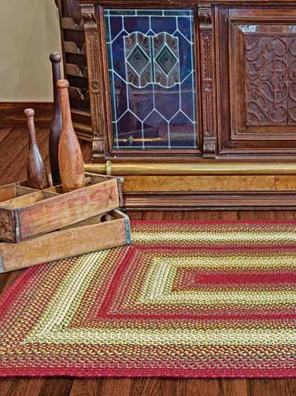 Flagstaff Wool Braided Rug