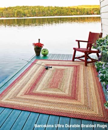 barcelona ultra durable braided rugs