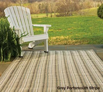 Grey portsmouth stripe