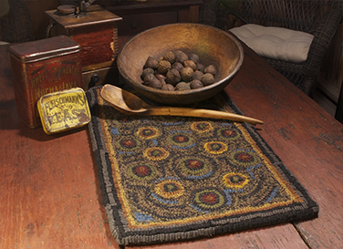 In-Circles-Primitive-Penny-Table-Runner-Kitchen