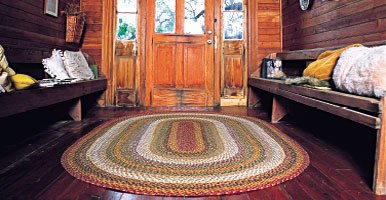 Pumpkin Pie Cotton Braided Rugs