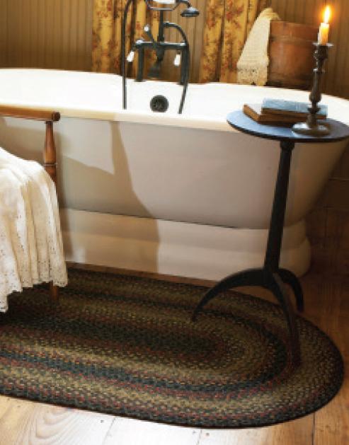 Enigma cotton braided rug