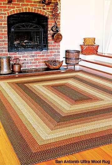 san antonio ultra wool rugs