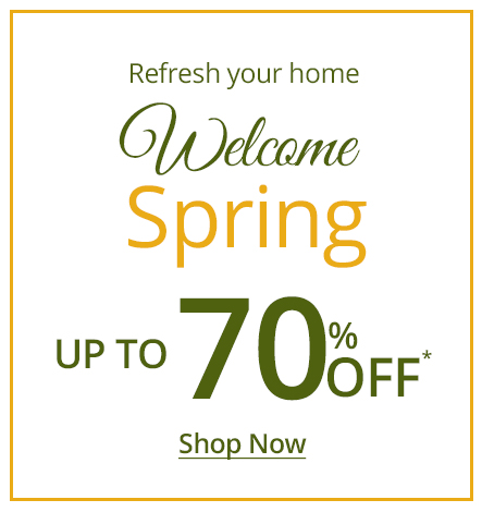 spring sale and deals