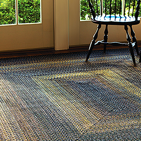 walk homespice rug decor indoor outdoor braided country