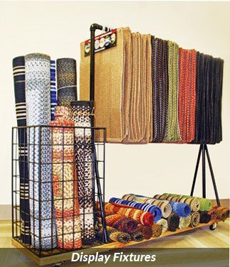 Rugs Display Racks