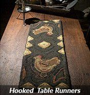 Hooked Table Runners