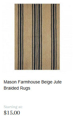 Mason Jute Braided Rugs