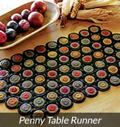 Penny Primitive Table Runners
