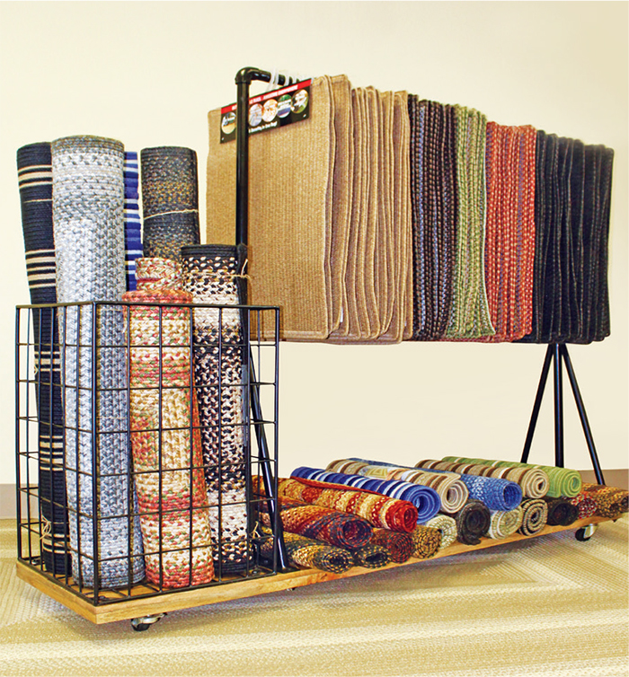 Area Rug Display Rack Rugs Ideas